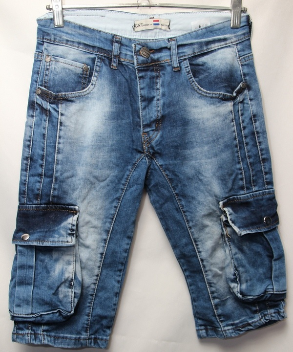 Шорты джинсовые мужские оптом 11065050 6122