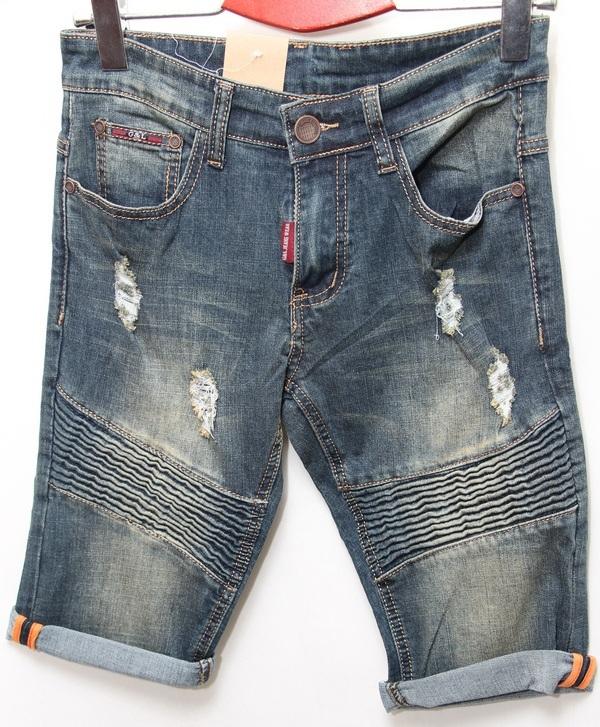 Шорты джинсовые мужские CELUKKIG LEVEN оптом 08061340 896
