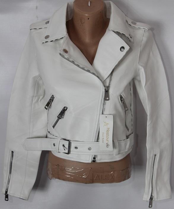 Куртки-косухи женские кожзам оптом 93614852 1788