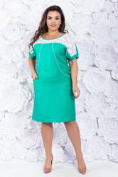 Платья женские БАТАЛ оптом 80321967  003-1