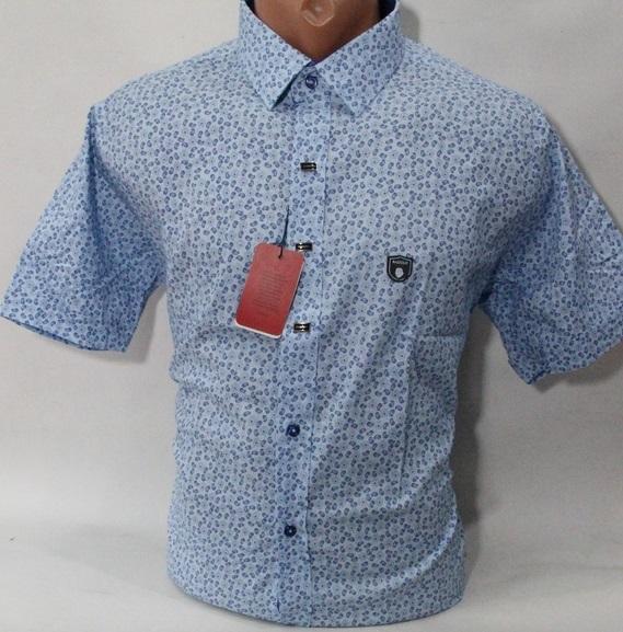 Рубашки мужские Турция оптом 04152738 1676-6