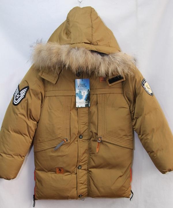 Куртки подростковые зимние оптом 20091076 10-1