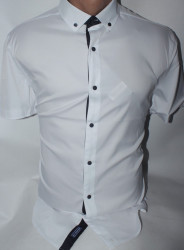 Рубашки мужские KARAVELLA оптом 96804532  01-36
