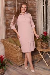 Платья женские БАТАЛ оптом 73641092 03-5