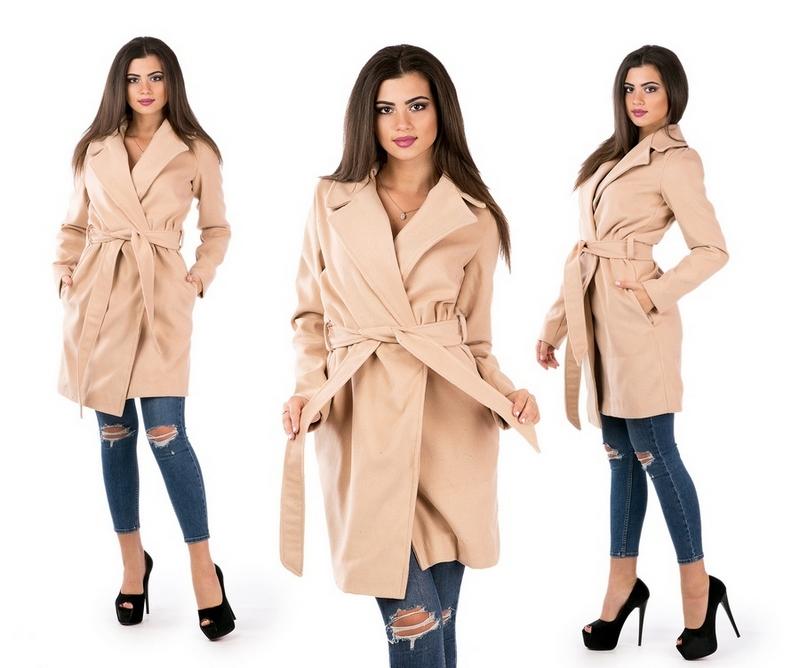 Пальто женские оптом 30095048 1-4