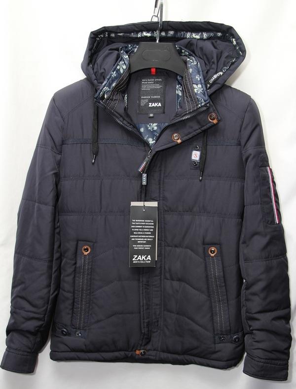 Куртки мужские ZAKA оптом  2107223 E-1702-2