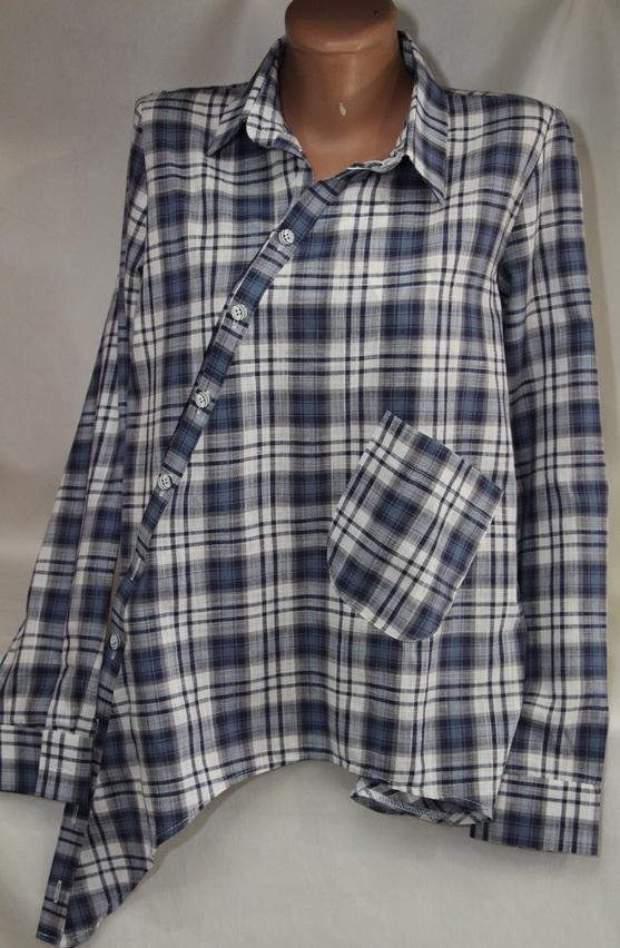 Рубашки женские оптом 05083030 00-2