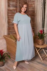 Платья женские БАТАЛ оптом 07135428 16-17