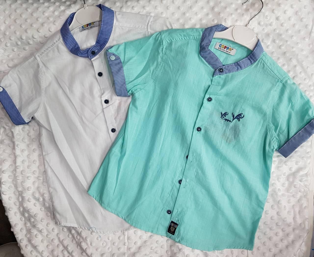 Рубашки детские на мальчика оптом 90834256 4-1