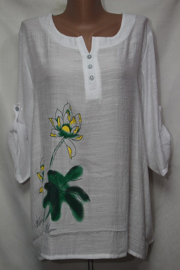 Блуза женская БАТАЛ  оптом 18021410 229