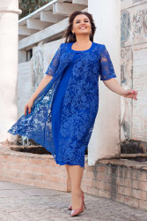 Платья женские БАТАЛ оптом 02941683  006-14