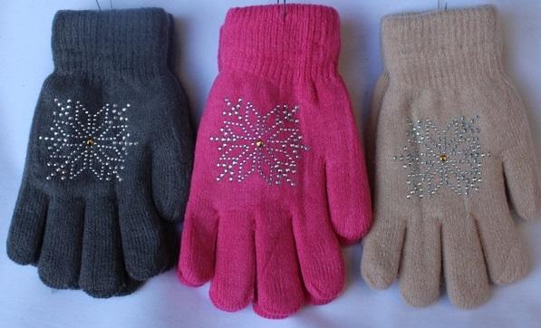 Перчатки подростковые оптом 52109634 С7132-1