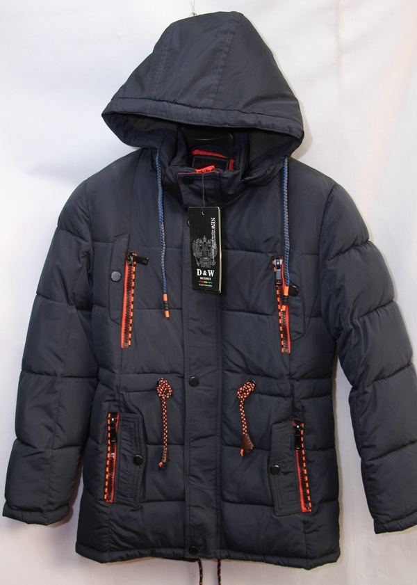 Куртки подростковые зимние оптом 20091076 G711-3