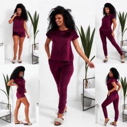 Ночные пижамы женские оптом 30678495 771-8