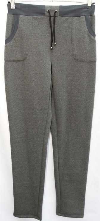 Спортивные штаны  женские батал оптом 1309176 7-3