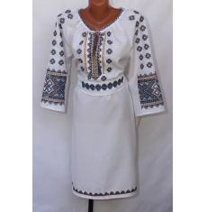Платье вышитое женское оптом 1307782 006