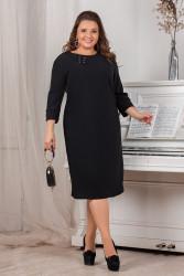 Платья женские БАТАЛ оптом 46970382 1-9