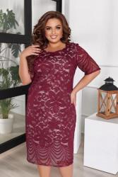 Платья женские БАТАЛ оптом 46178025 04-12