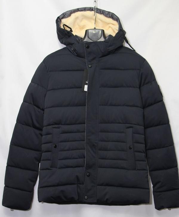 Куртка DUSHIQIYU зимняя  мужская оптом 14094976 1701-2  (BLUE)