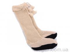Гольфы, Diana оптом 601-2 домашняя обувь вязан. беж. АКЦИЯ