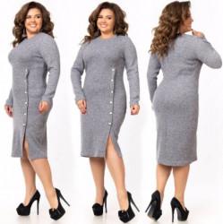 Платья женские БАТАЛ оптом 25614370 161-6
