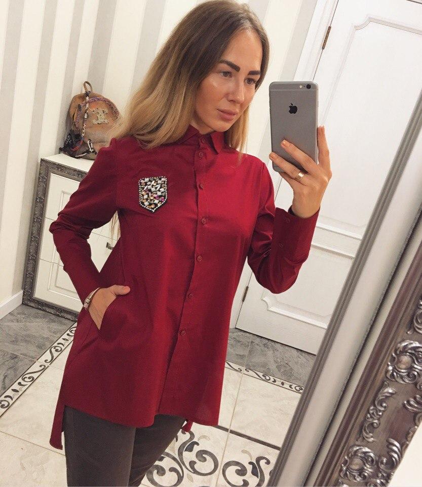 Рубашки женские оптом 29083183 03-7