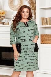 Платья женские БАТАЛ оптом 96301478 14-12
