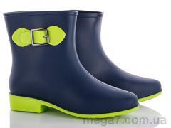 Резиновая обувь, Class Shoes оптом G01 синий-салатовый