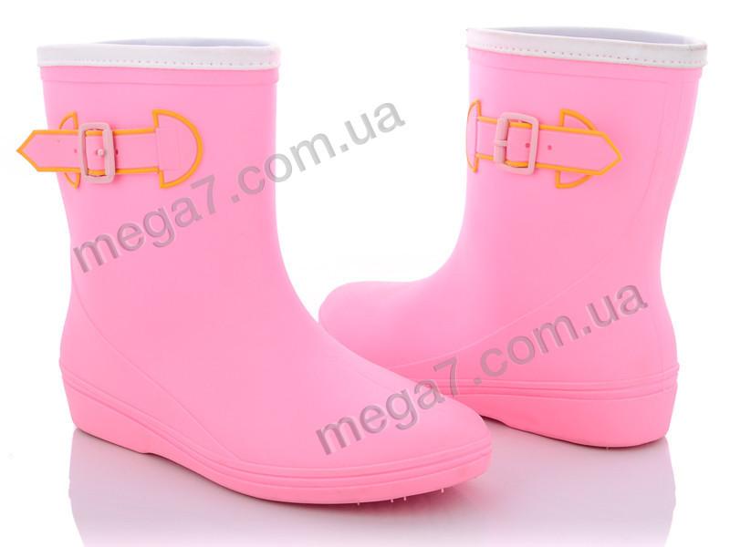 Резиновая обувь, Class Shoes оптом R818 розовый
