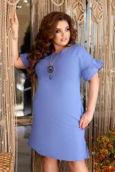 Платья женские БАТАЛ оптом 73296051  195-1
