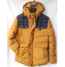 Куртка мужская зимняя оптом Китай 2909223 E61
