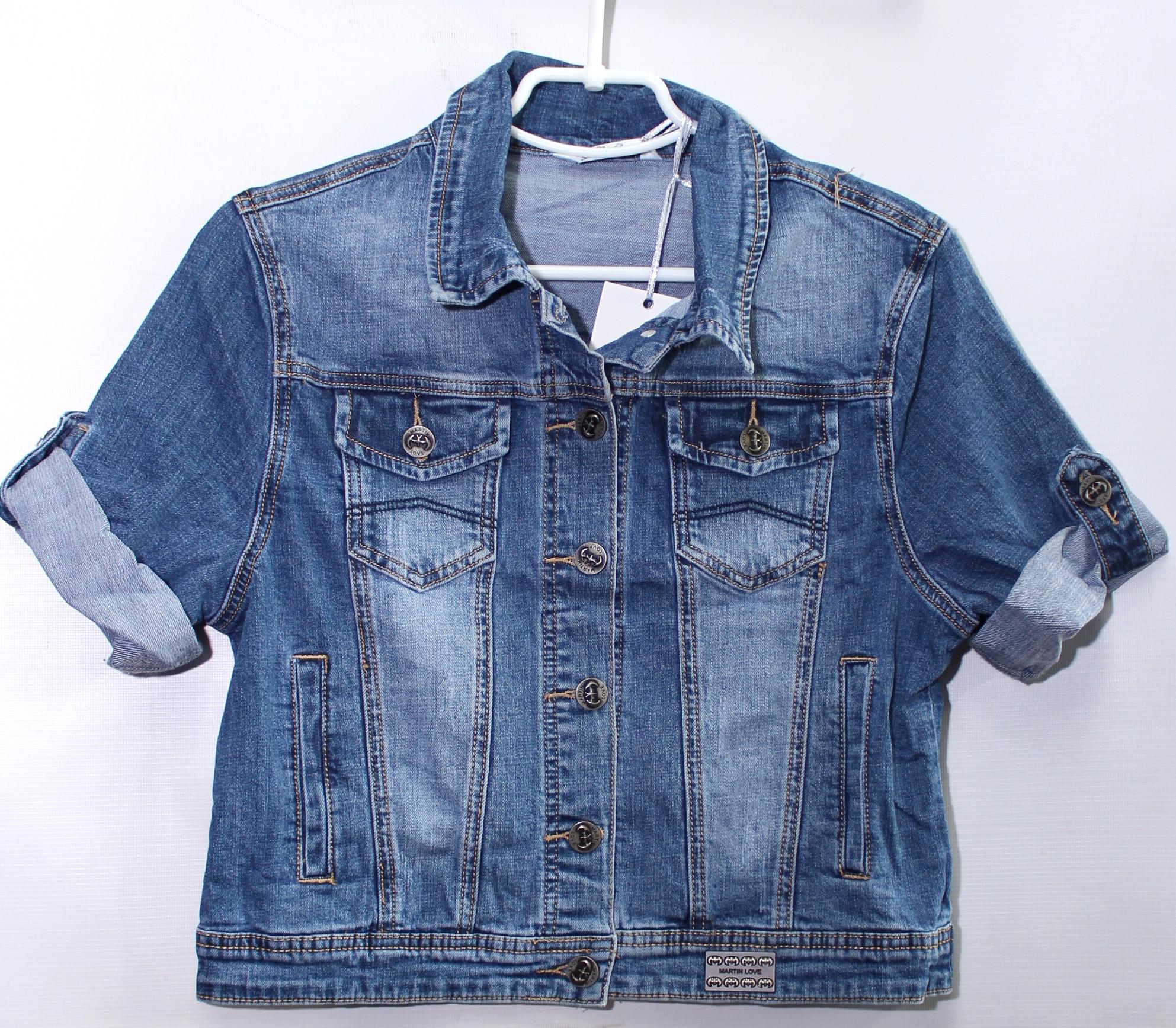 Куртки джинсовые женские ZIJINYAN  оптом 43579186 308