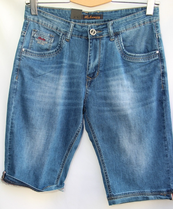Шорты джинсовые мужские оптом 10061683 2858