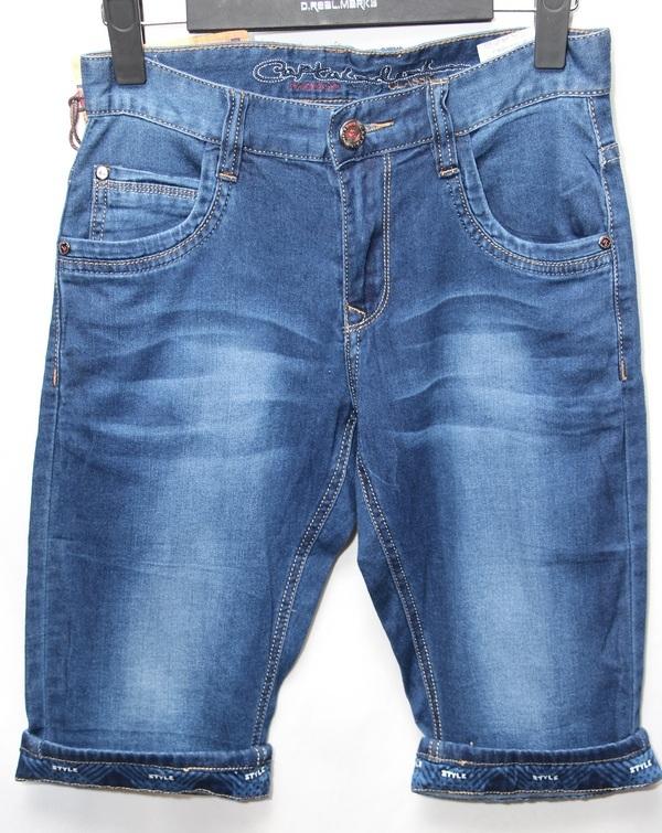 Шорты джинсовые юниор оптом 29051670 7504