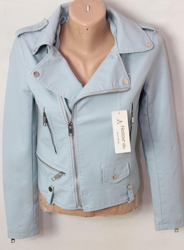 Куртки-косухи женские кожзам оптом 70823196 020