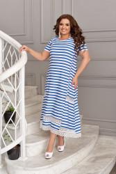 Платья женские БАТАЛ оптом 67985230  06-10