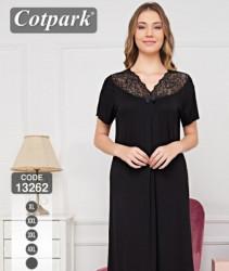 Ночные рубашки женские COTPARK  БАТАЛ оптом 87691204 13262-10