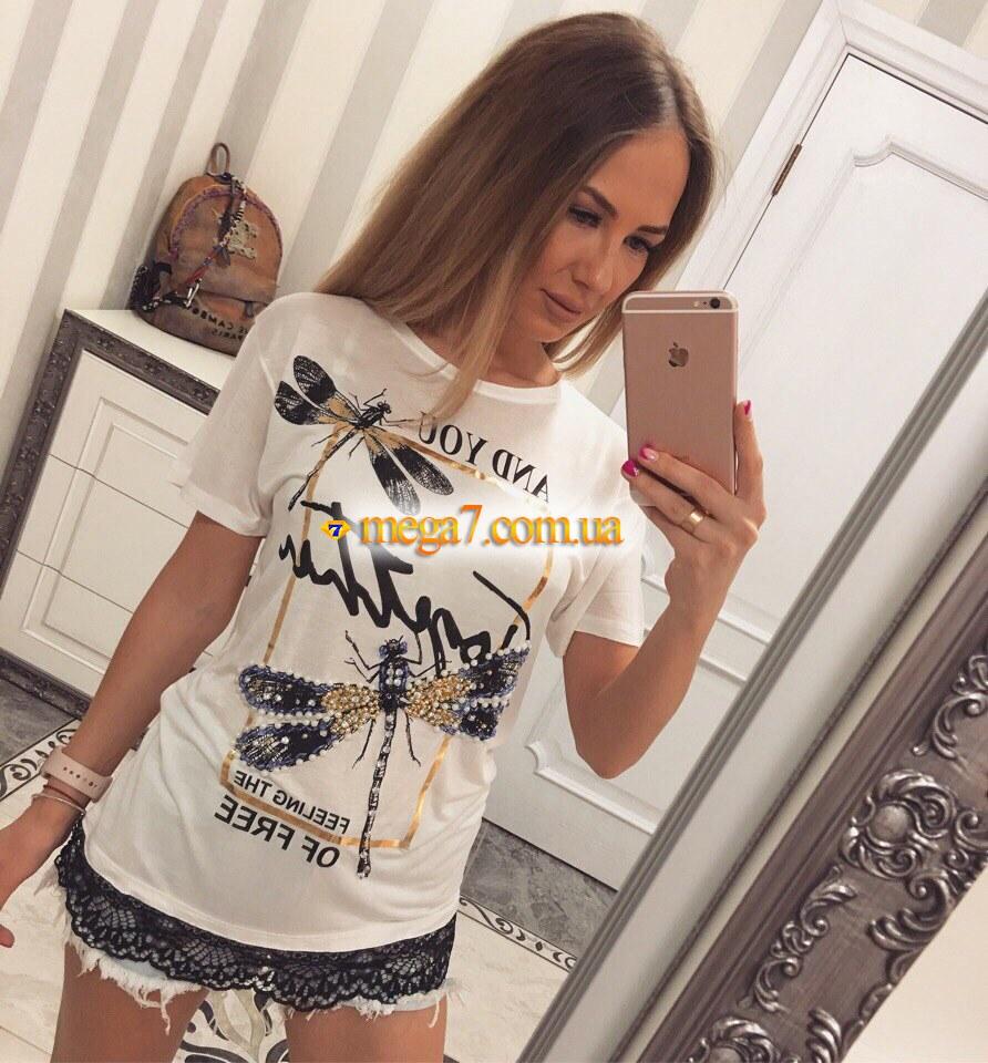 Женские футболки женские